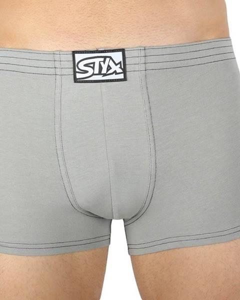 Šedé spodní prádlo Styx