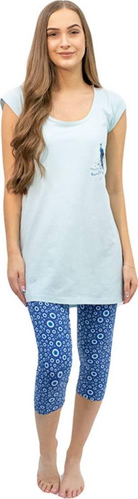 GINA Dámské pyžamo Gina mentolové