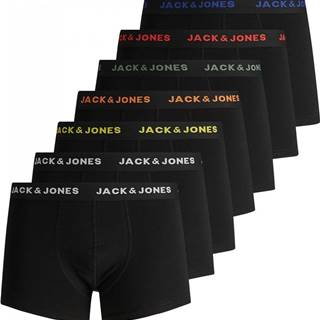 7PACK pánské boxerky  černé