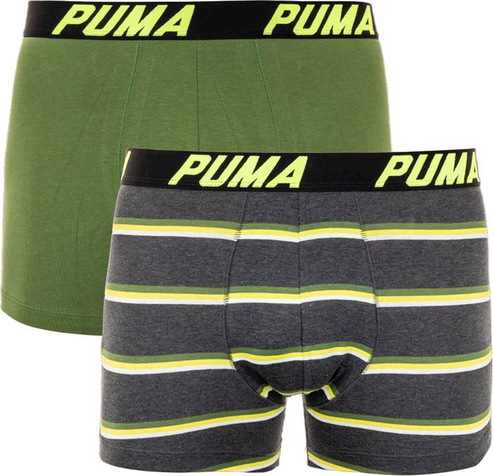puma 2PACK pánské boxerky  vícebarevné