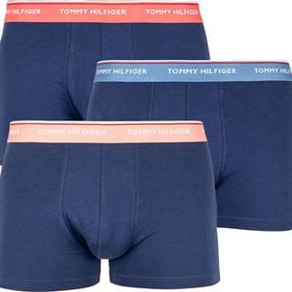 3PACK pánské boxerky  tmavě modré