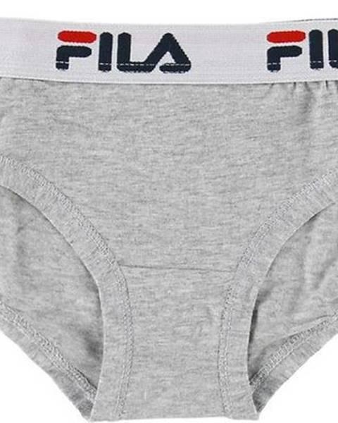 Šedé spodní prádlo fila