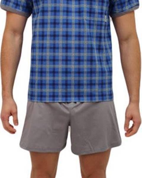 Modré noční prádlo Lonka
