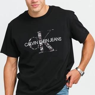 CALVIN KEIN JEANS Bonded Monogram Tee černé