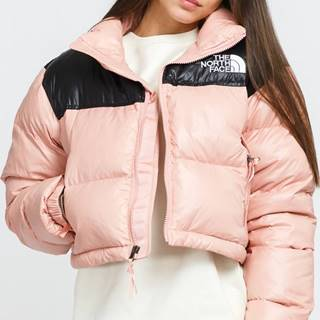 W Nuptse hort Jacket růžová / černá