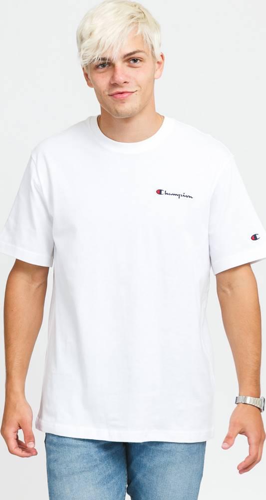 champion Crewneck T-Shirt bílé
