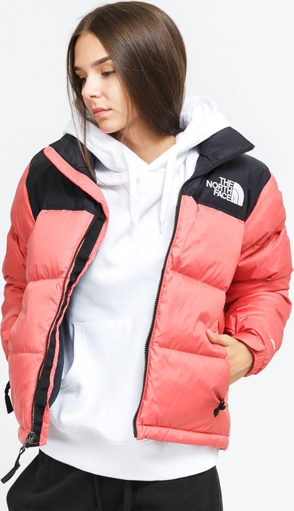 The North Face W 1996 Retro Nuptse Jacket tmavě růžová / černá