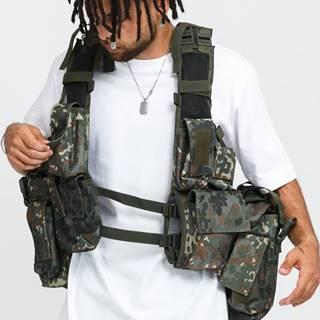 Tactical Vest camo zelená