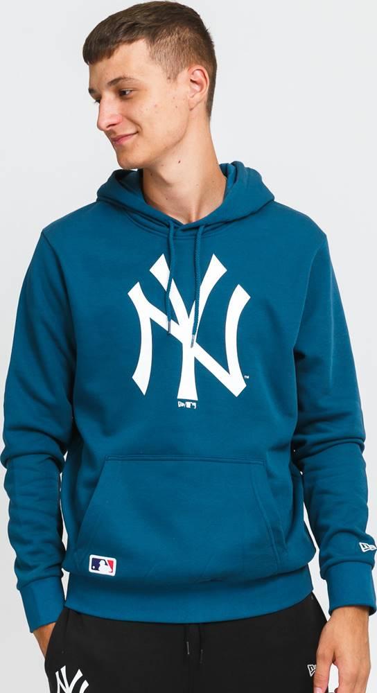 \New Era New Era MLB Seasonal Team ogo Hoody NY tmavě tyrkysová / bílá