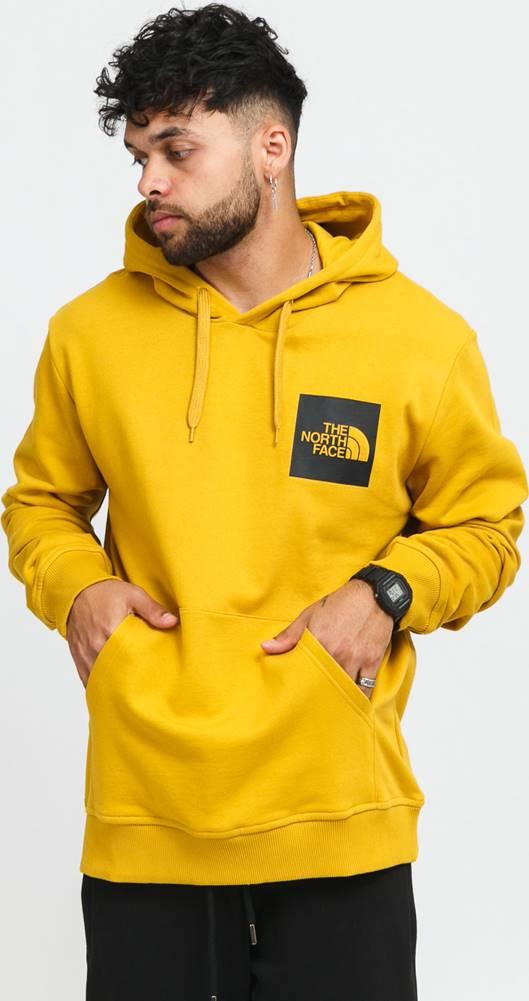 The North Face Fine Hoodie tmavě žlutá