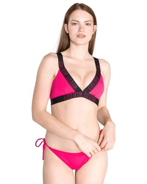 Růžové plavky Calvin Klein