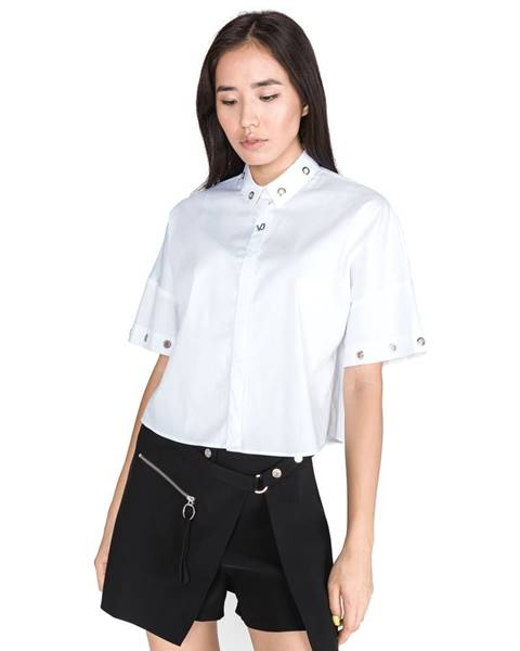 Bílý top Versace Jeans