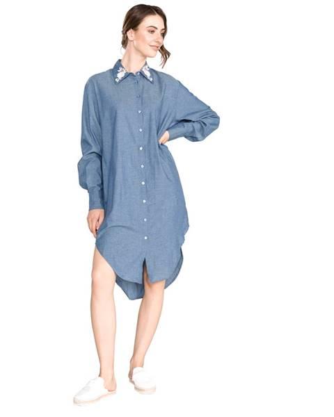 Modré šaty TWINSET