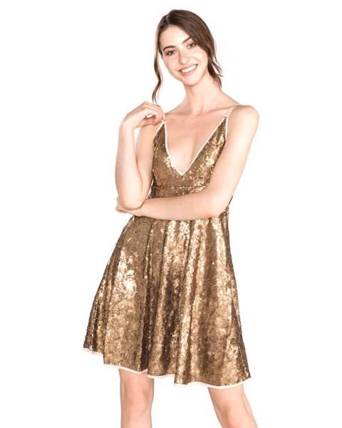 Zlaté šaty TWINSET