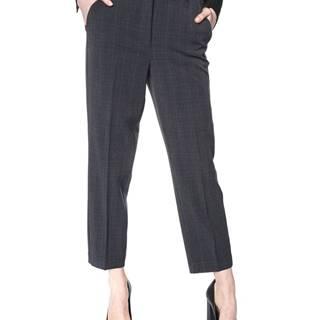 Vero Moda Jane Kalhoty Černá Šedá
