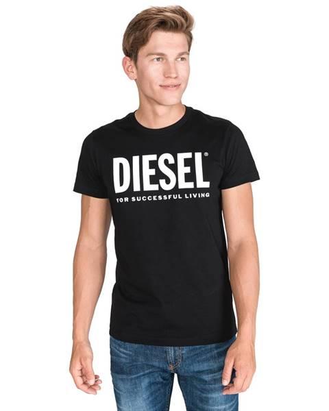 Černé tričko Diesel