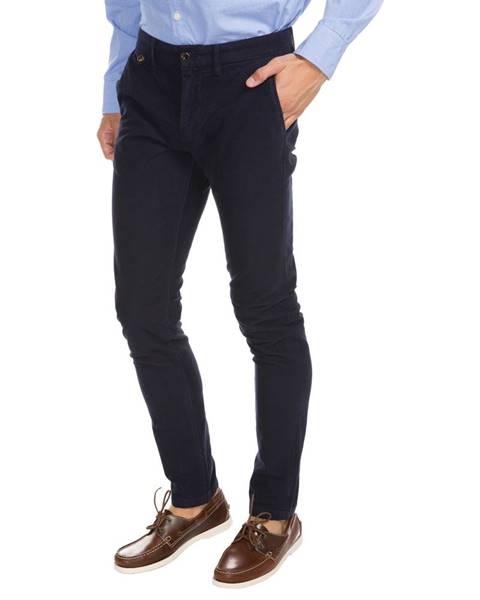 Modré kalhoty pepe jeans
