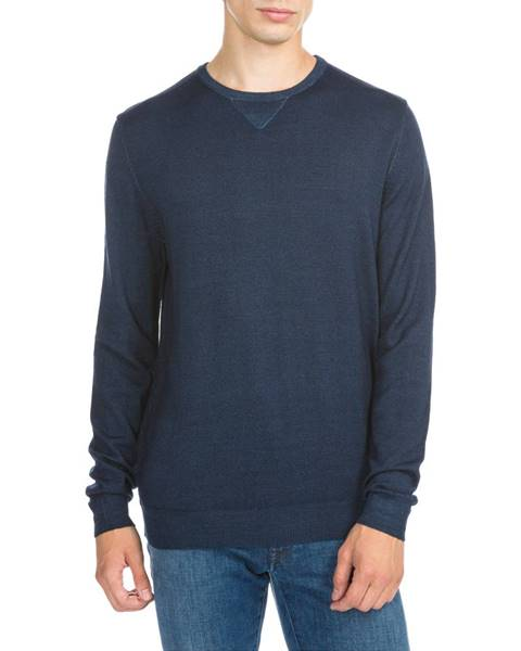 Modrý svetr Trussardi Jeans