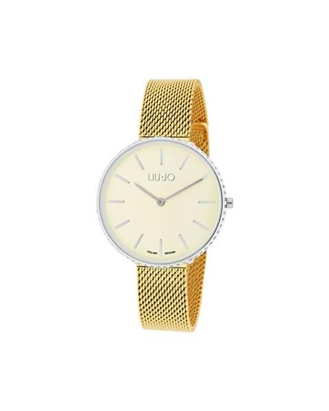 Žlutá zlaté hodinky Liu Jo