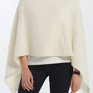 Svetr  D2. Lambswool Cable Poncho