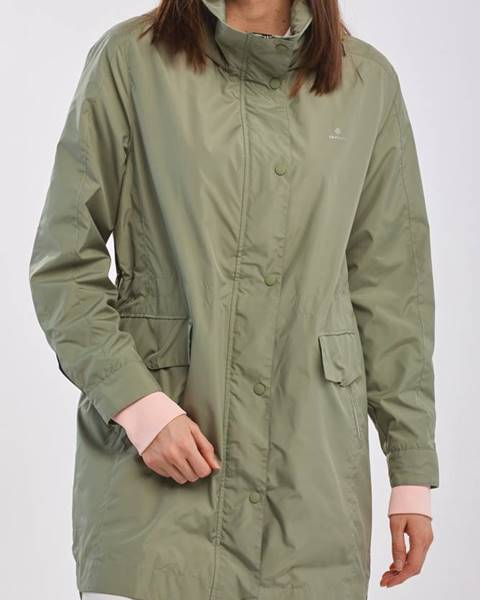 Zelená bunda gant