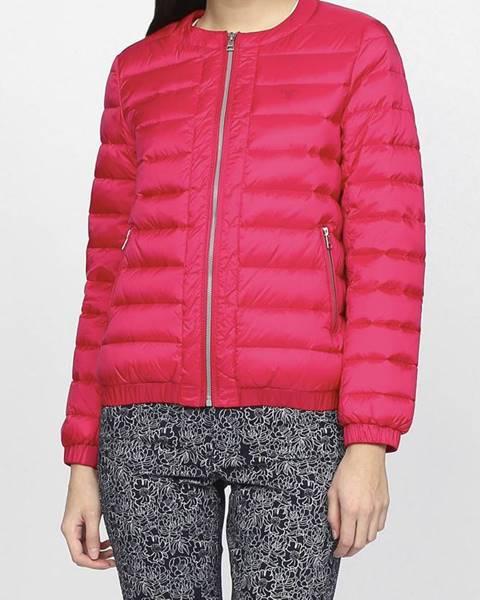 Růžová bunda gant