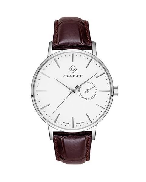 Hnědé hodinky gant