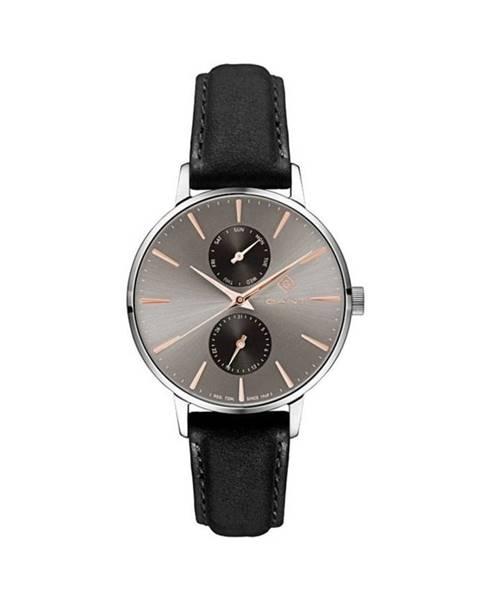 Černé hodinky gant
