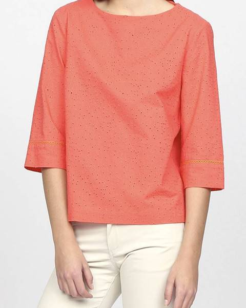 Růžový top gant