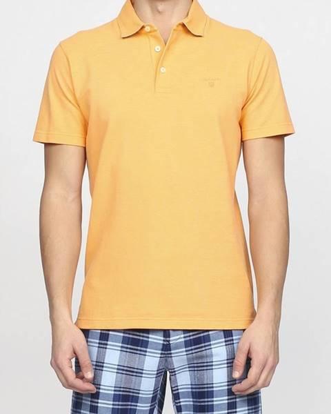 Oranžová košile gant