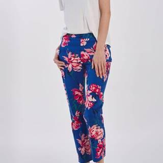 Kalhoty  D1. Peonies Printed Pant