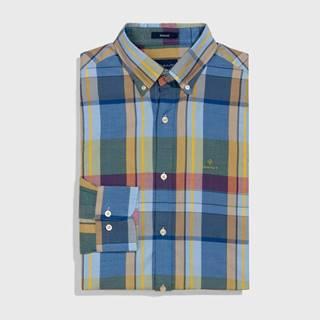 Košile  D1. Oxford Madras Reg Bd