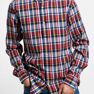 Košile  D1. Oxford Plaid Reg Bd