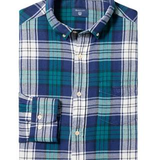 Košile Gant O2. Windblown Flannel Plaid Reg Bd