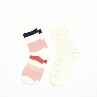 Ponožky Gant O1. 2-Pack Multistr/Dot Socks Box