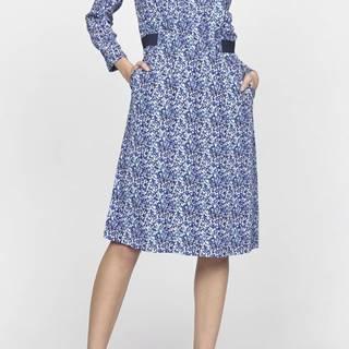 Šaty Gant G2. Printed Argyle Dress