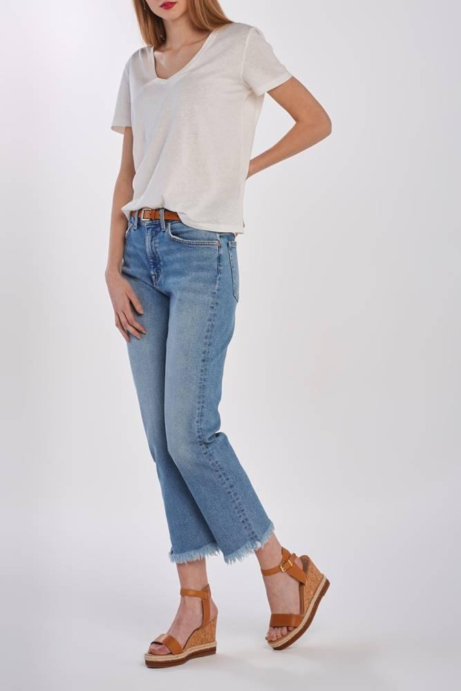 gant Džíny  D1. Cropped Authentic Jeans