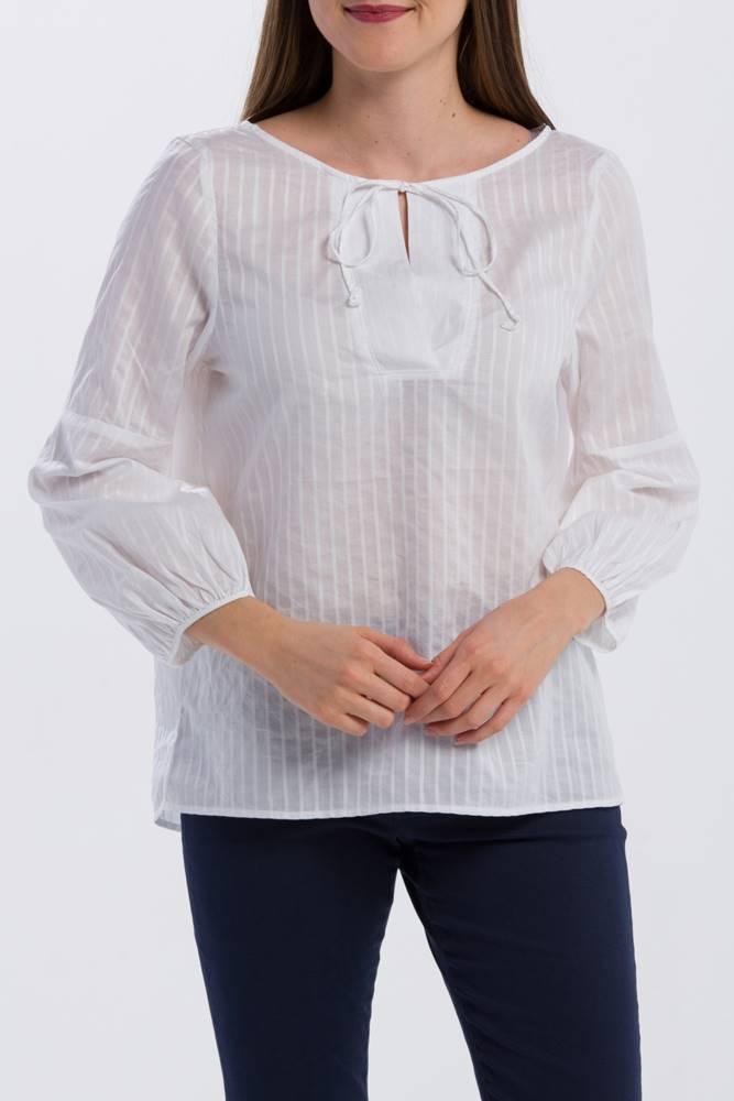 gant Košile  O2. Pp Sateen Striped Blouse