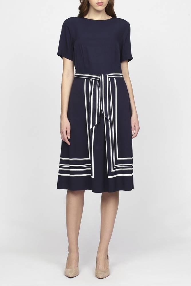 gant Šaty Gant O1. Border Stripe Dress