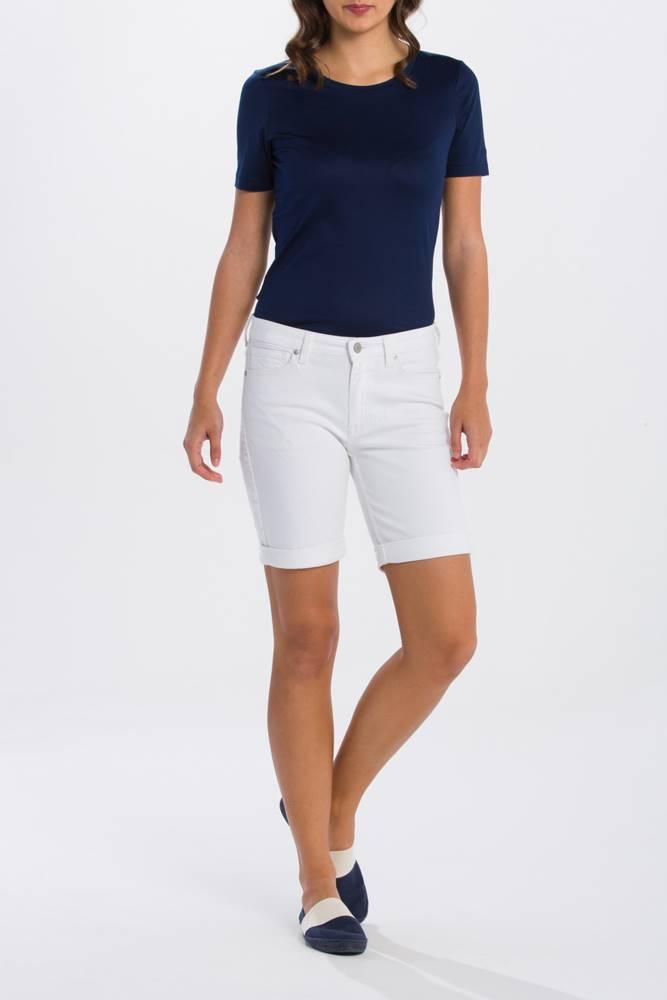 gant Šortky Gant O1. White Denim Shorts