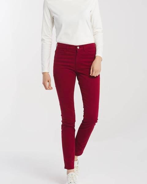 Červené kalhoty gant