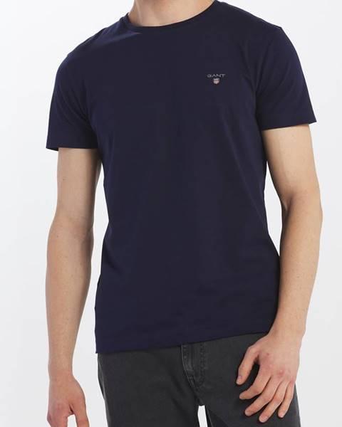 Modré tričko gant