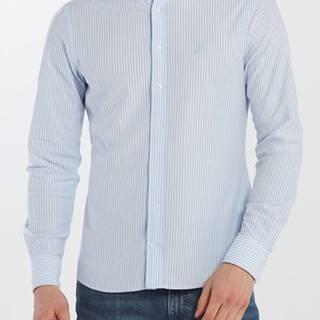 Košile  D1. Tp Pique Stripe Slim Bd