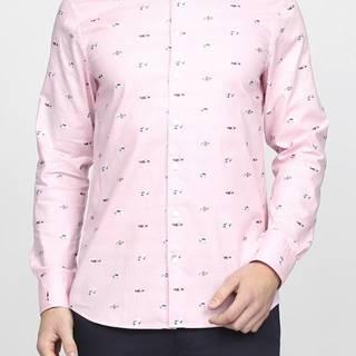 Košile Gant Lm. Fil Coupe Reg Bd