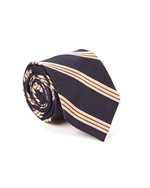 Modrá kravata gant