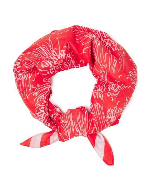 Oranžová šála gant