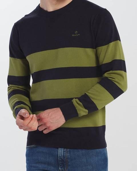 Zelený svetr gant