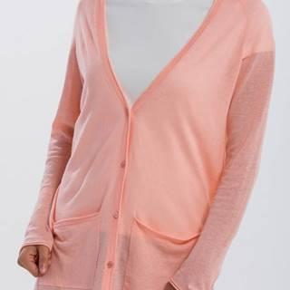 Svetr  O2. Fine Knit Linen Cardigan