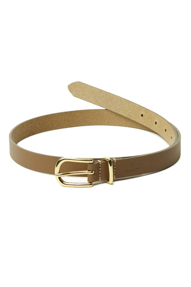 gant Opasek  D1. Signature Weave Leather Belt
