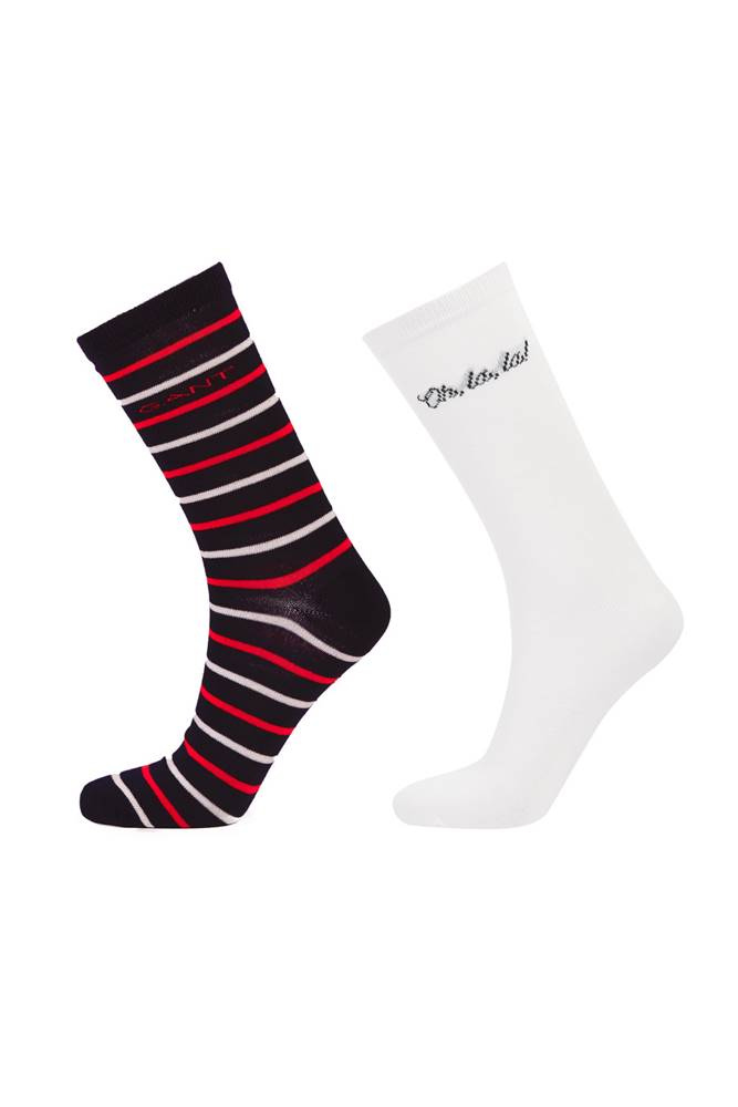 gant Ponožky  D1. Quote And Stripe Sock Gift Box